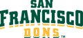 San Francisco Dons 2012-Pres Wordmark Logo 01 iron on transfer