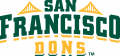 San Francisco Dons 2012-Pres Wordmark Logo iron on transfer