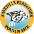 Nashville Predators iron on transfer