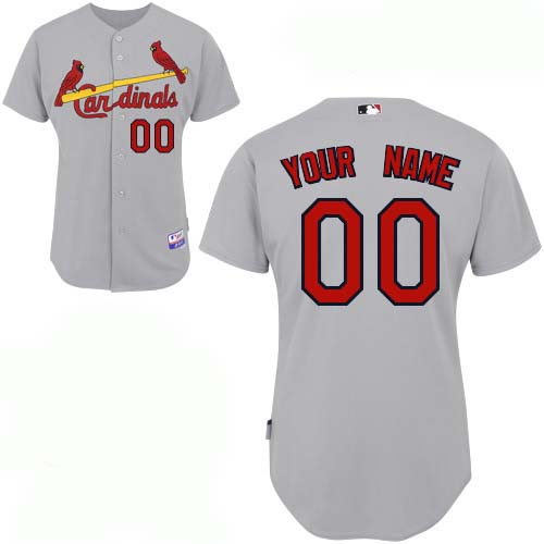 St. Louis Cardinals Custom Letter And Number Kits For Road Jersey