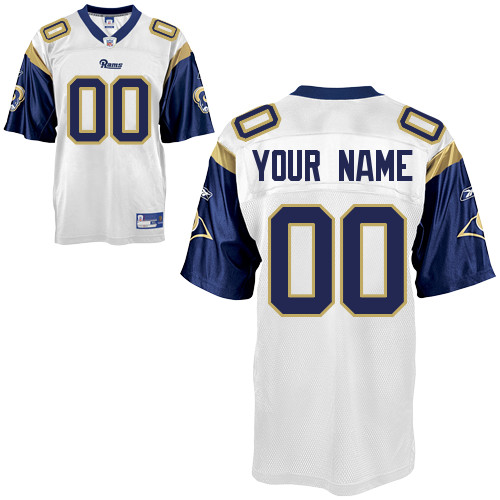 St Louis Rams Road Jersey Custom Letters & Numbers Kits